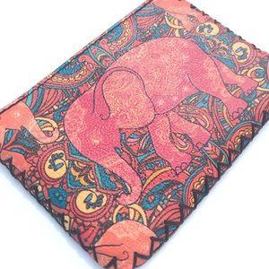 """Handbags - Coin Purse - Elephant - 5"""" x 3.5"""""""